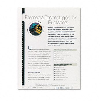 Fellowes® Thermal Binding System Presentation Covers COVER,1/4 THERMAL BIND,WE (Pack of6)
