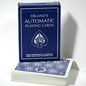 Deland's Marked Deck of Cards BLUE