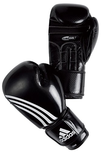 Adidas Shadow Boxing Gloves ClimaCool - Black/White - 14oz