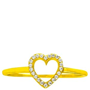 Sparkles Diamond Jewellery Women Girls Ring SWR 7058 Mustard