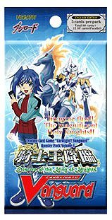 Cardfight Vanguard ENGLISH VGEBT01 Descent of the King of Knights Booster Pack - 1