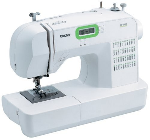 Brother ES2000 77 Stitch Function Computerized Free Arm Sewing Machine