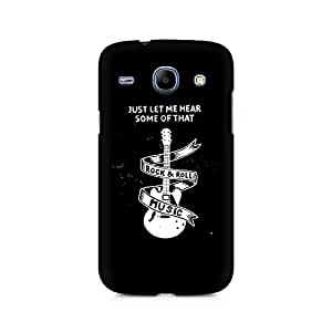 Ebby Rock And Roll Premium Printed Case For Samsung Core I8262