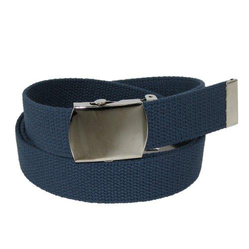 CTM Men's Military Fabric Belts