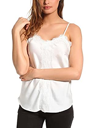 FRENCH CODE Top Jasmin (Blanco)