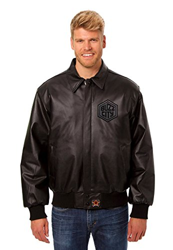 Charlotte Hornets Leather Bomber Jacket (XXX-Large) (Starter Hornets Snapback compare prices)