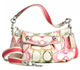Coach Poppy Dreamy Groovy Convertiable Shoulder Hobo Bag Purse Tote 16698 Mutli Review