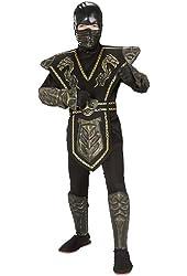 Gold Dragon Warrior Child's Ninja Costume