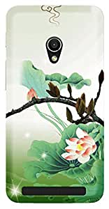 TrilMil Printed Designer Mobile Case Back Cover For Asus Zenfone 4.5 A450CG