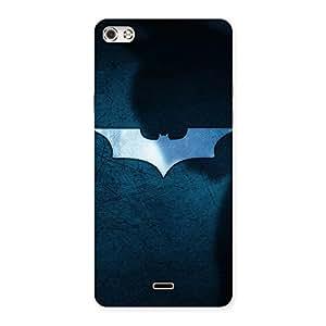 Impressive Blueish Knight Back Case Cover for Micromax Canvas Silver 5