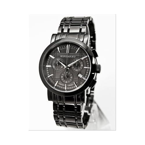 [BURBERRY]バーバリー 腕時計 ヘリテージ クロノグラフ【BU1373】オールブラック メンズ[並行輸入品]