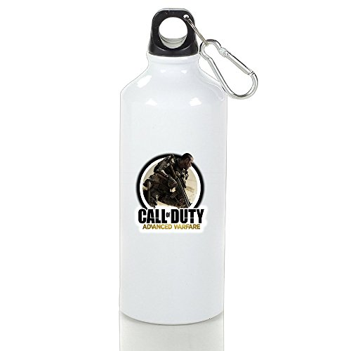 Good Gift - Call Of Duty Advanced Warfare Unique Drinkware Aluminum Sports Water Bottle - Metallic Finish With Sport Cap