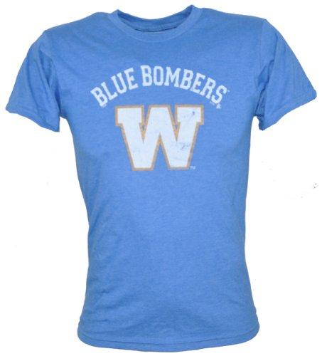 Winnipeg Blue Bombers Washed Logo Moxie Tee