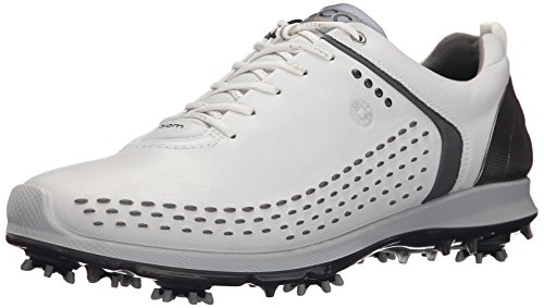 ECCO Men's Biom G2 Golf Shoe, White/Dark Shadow, 47 EU/13-13.5 M US (Ecco Golf Shoes 47 compare prices)