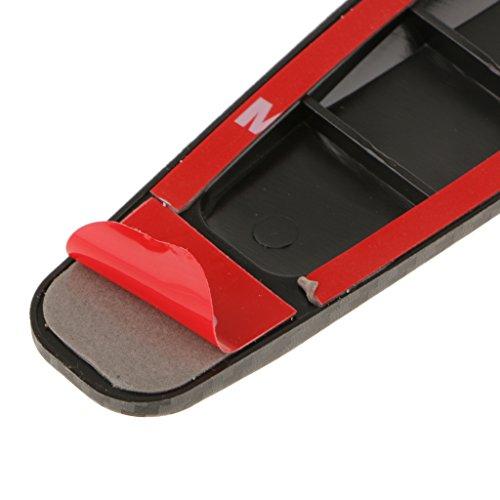 protecteur en fibre de carbone v hicule anti rayures 2pcs autocollant bande protection de pare. Black Bedroom Furniture Sets. Home Design Ideas