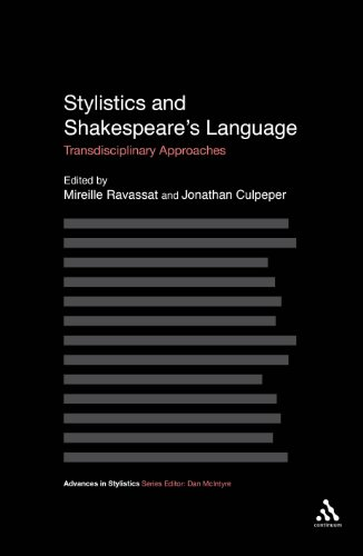 Stylistics and Shakespeare's Language: Transdisciplinary Approaches