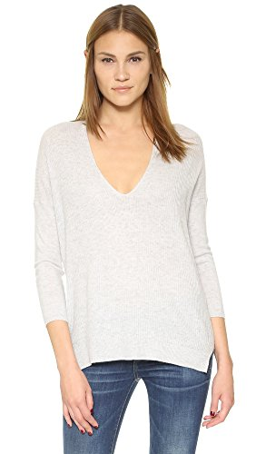 Soft Joie Women's Brys Sweater, Light Heather Grey, X-Small