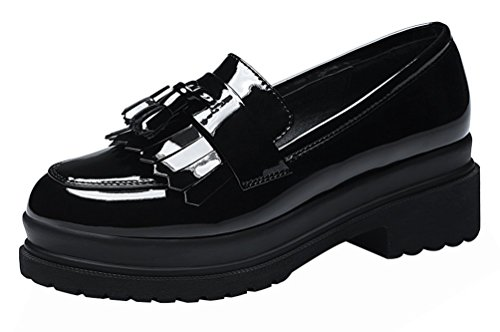 fq-real-women-fashion-cute-casual-slip-on-flower-walking-platform-loafer-shoes35-uk-black