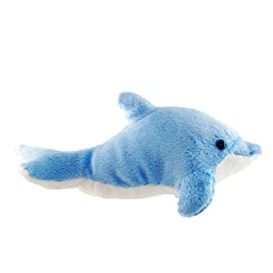 ZSL - Minis Lifelike Soft Toy Dolphin (Assorted Colours)