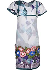 Elegant Blended Women Kurta (24214 Rry, Cream, Free Size)