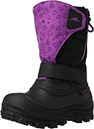Tundra Quebec Wide (Toddler) - Black/Hearts-8 W Tod
