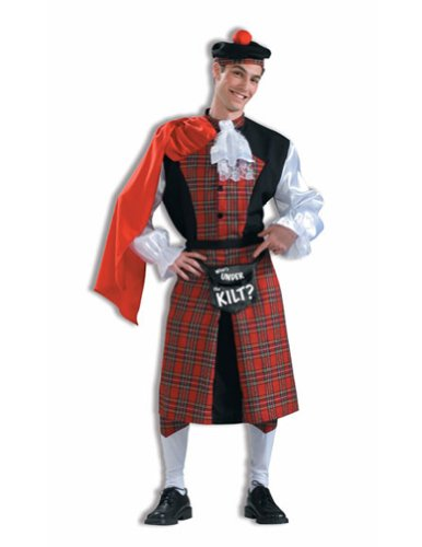 Whats Under The Kilt Halloween Costume - Most Adults