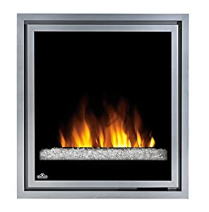 Napoleon 30 In Electric Fireplace Insert With Glass Embers Kitchen Home