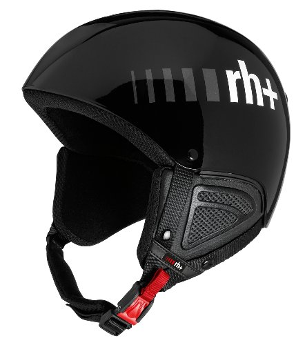 zero rh+ Skihelm Estro, Schwarz glänzend, 55-56 cm, IHX6021-01-S