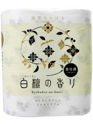 トイレットペーパー 白壇の香り 4RW