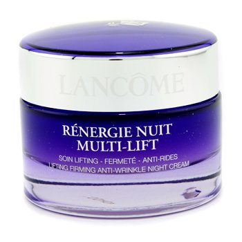 Lancome Renergie Lift Multi Action Night Lifting & Firming Night Cream All Skin Types 2.6 Oz New