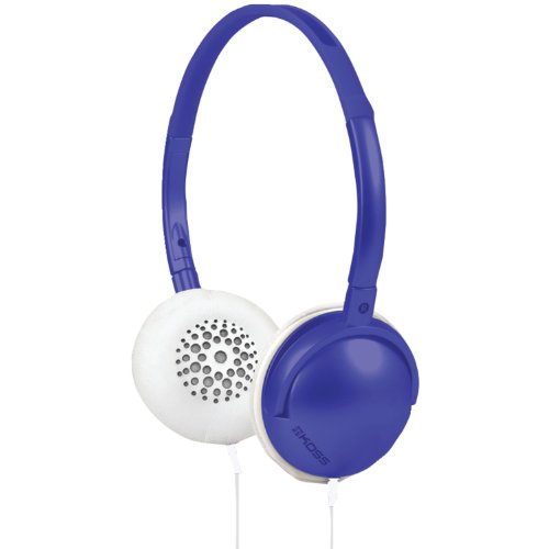 Koss Ruk 40 B Active Colorful Lightweight On-Ear Headphones