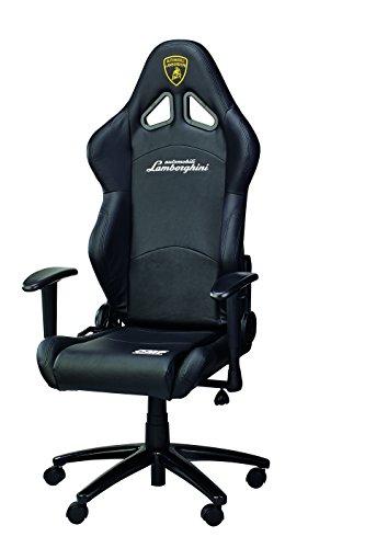 automobili-lamborghini-sedia-da-ufficio-unisex-nero-taglia-unica