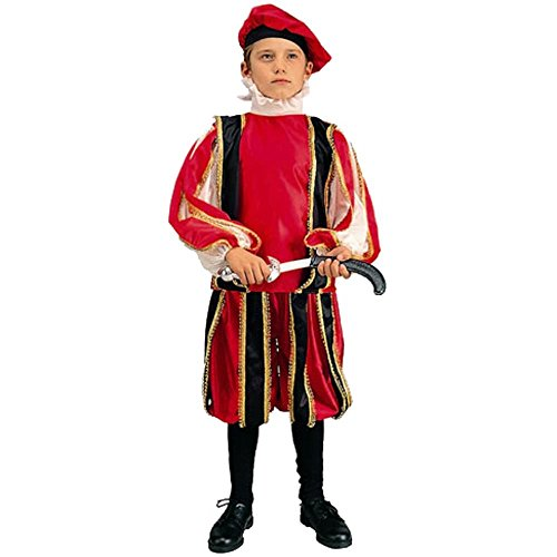 Child's Renaissance Boy Costume (Size: Small 4-6)