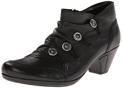 Remonte D1273 01, Bottes femme - Noir, 37 EU (4 UK) (6 US)