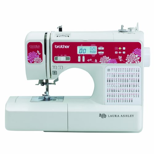 Laura Ashley Limited Edition CX155LA Computerized Sewing & Quilting Machine with Built-in Font for Basic Monogramming (Monogramming And Sewing Machine compare prices)