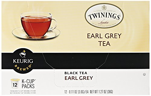 Twinings Earl Grey Tea Keurig K-Cups, 72 Count