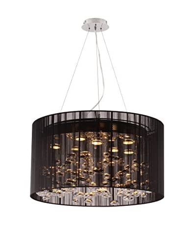 Zuo Symmetry Ceiling Lamp, Black