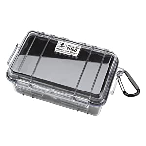 Pelican 1050 Micro Dry Case /Snorkelers/Kayakers w/ clear lid