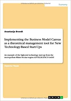 Implementing The Business Model Canvas As A Theoretical Management Tool For New Technology-Based Start-Ups