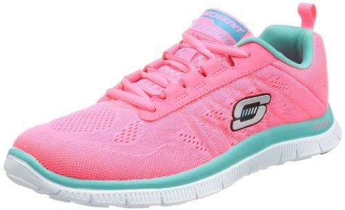 SkechersFlex AppealSweet Spot - Scarpe da Ginnastica Basse Donna , Rosa (Pink (HPTQ)), 40