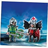 Refined Playmobil Dragon Knights Duo Pack (4912) - Cleva Edition H8' Bundle