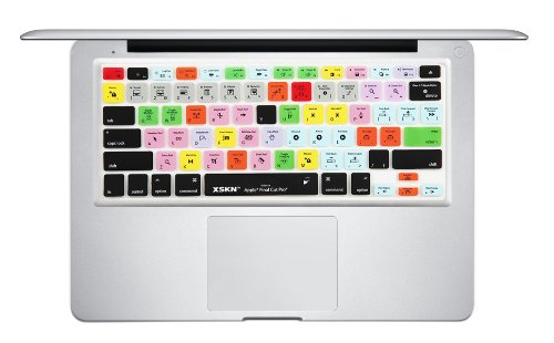 Xskn Macbook Keyboard Overlay Skin For Editing On Final Cut Pro Us Version