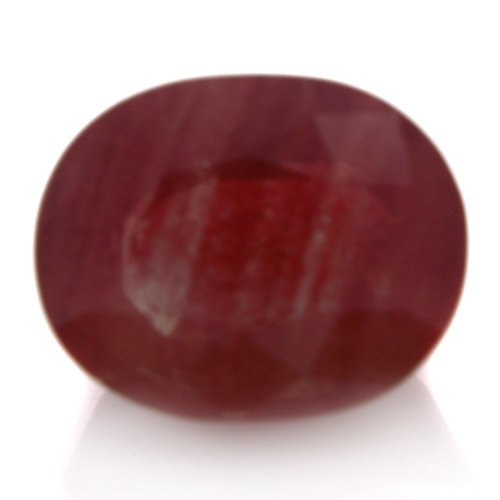 Natural Africa Red Andesine Loose Gemstone Oval Cut 9*7mm 2.5cts VS Grade Amazin