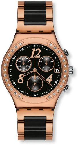 Swatch Dreamnight Rose Ladies Watch YCG404G