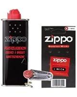 ORIGINAL ZIPPO composants de rechange dans l'essence + + mèche Flint