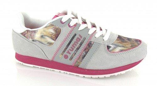 Yumas, Sneaker donna Grigio Gris