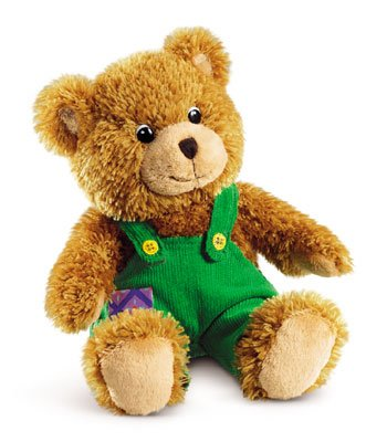 Corduroy Bear by Don Freeman Medium 12'' Dressed Teddy Bear Stuffed Animal by Russ Berrie