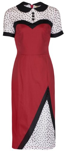 Lindy Bop 'Wilma' Vintage 1950′s Rockabilly Wiggle Dress