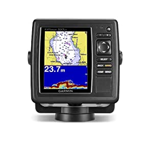 Garmin GPSMAP 527xs 10Hz GPS GLONASS Receiver with Transducer by Garmin