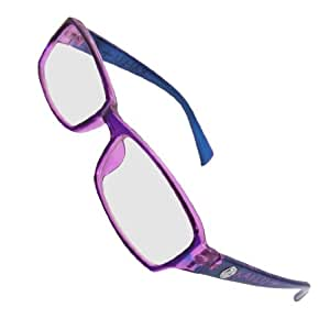 purple frame multi coated lens plain
